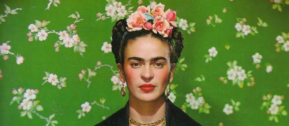 Frida Kahlo flores