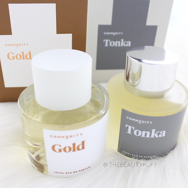 Commodity Gold and Tonka  |  The Beauty Puff