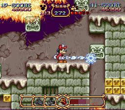 The Magical Quest Mickey Mouse rom Snes online