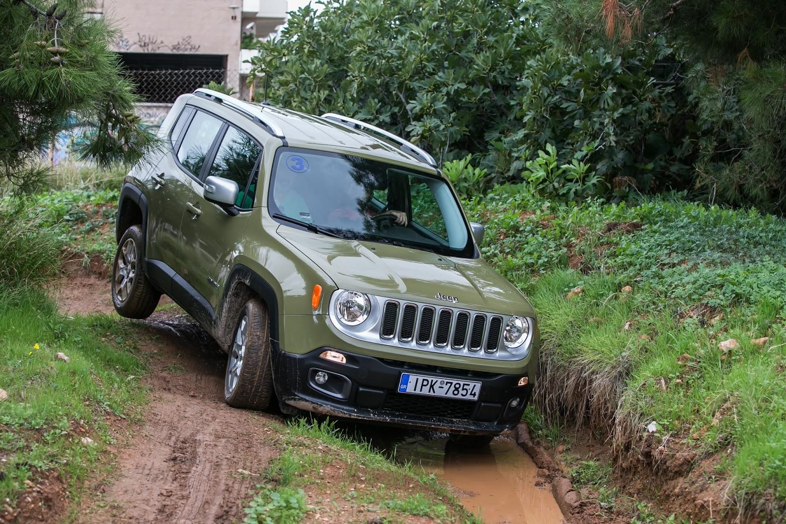 KF 1515 High Definition εμπειρία οδήγησης με την 7 ιντσών HD LCD οθόνη οργάνων του Jeep Renegade Jeep, Jeep Renegade, Τεχνολογία