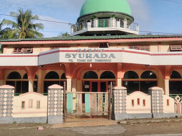 masjid pelattoang masa pandemi corona