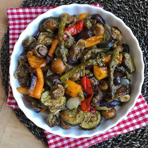 italienisches Ofengemüse