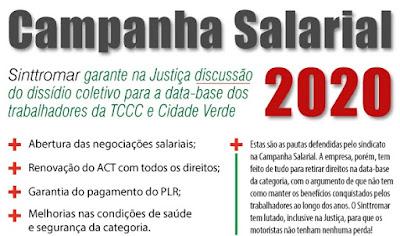 Campanha Salarial 2020 do Sinttromar. Café com Jornalista