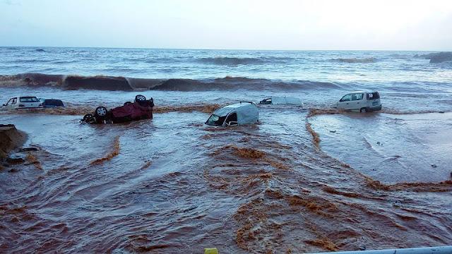 Σε κατάσταση έκτακτης ανάγκης οι πληγείσες περιοχές