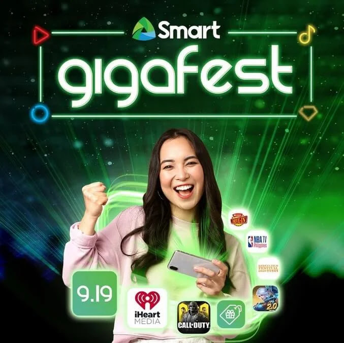 Smart gives back to subscribers in month-long 'Smart GigaFest' celebrations