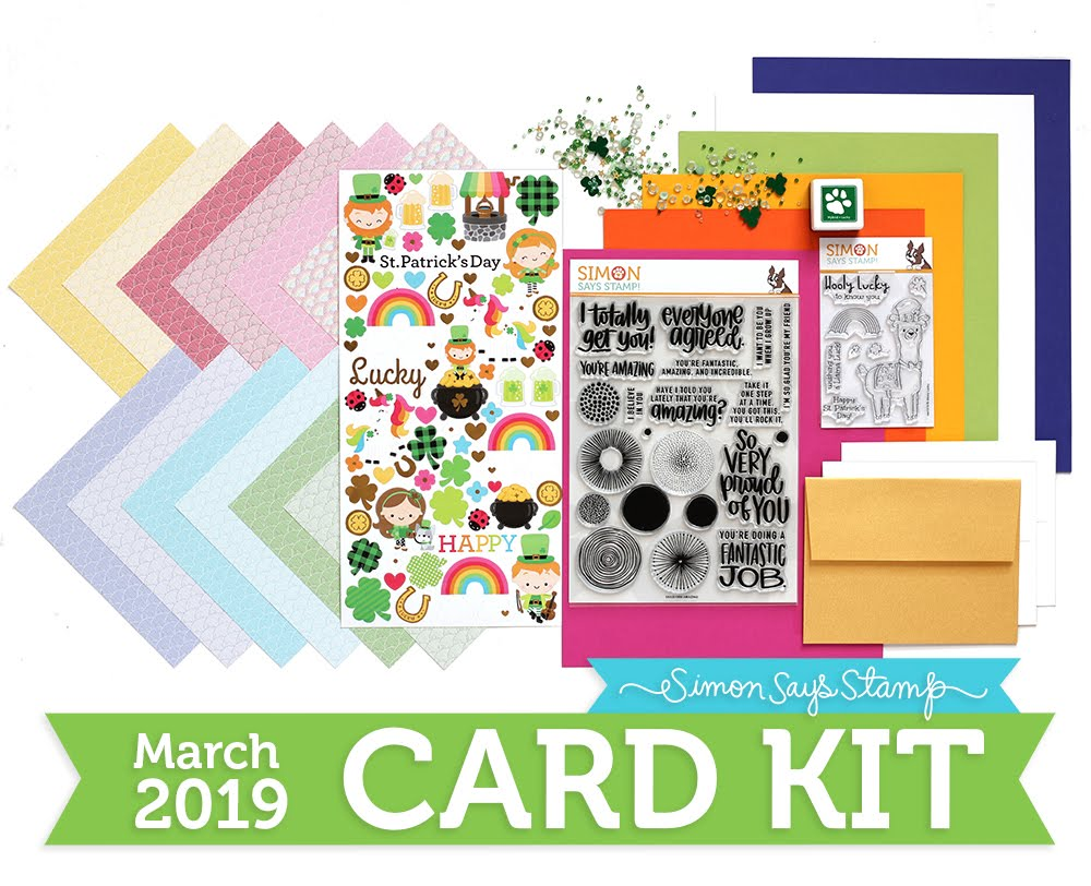 Simon's March Card Kit