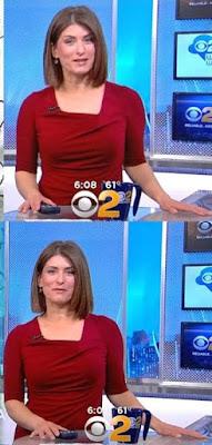 Vanessa Murdock reporting the news