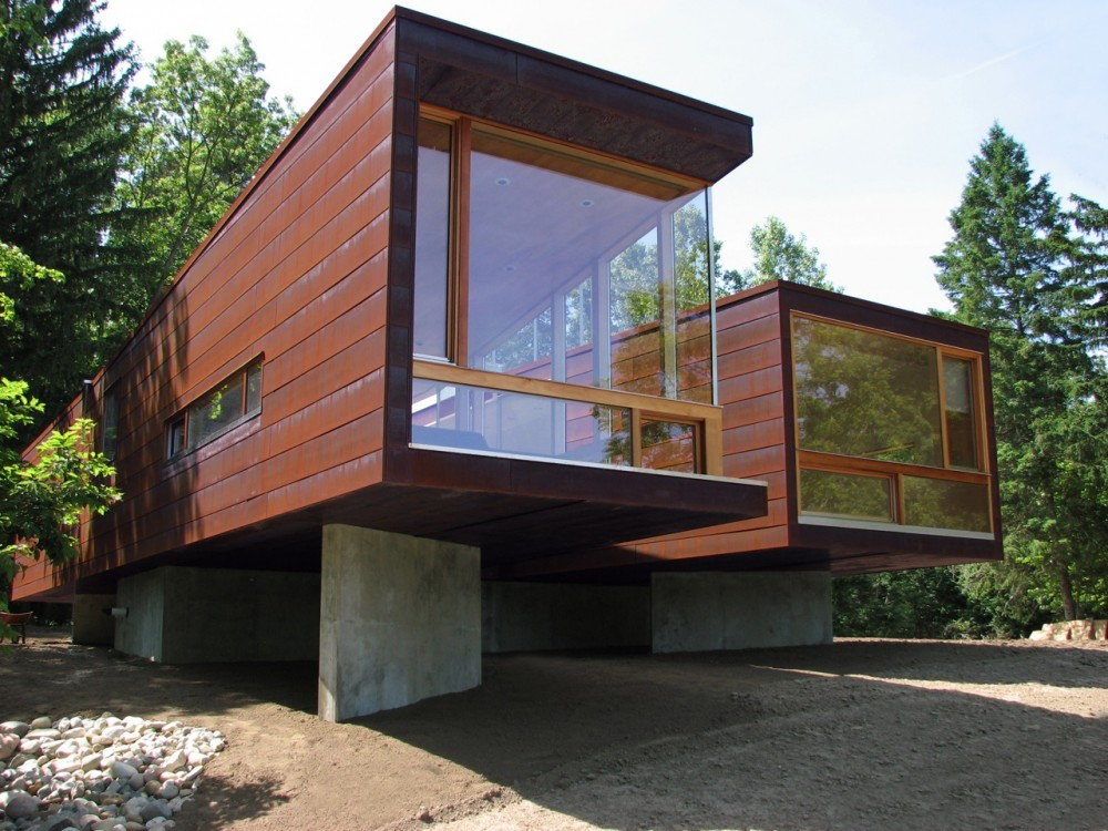 Modern prefab homes in seattle wa for Modern prefab homes seattle