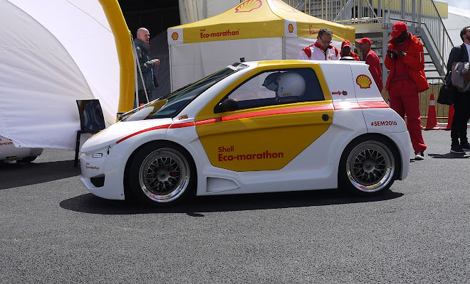 Shell Eco-marathon demonstrator