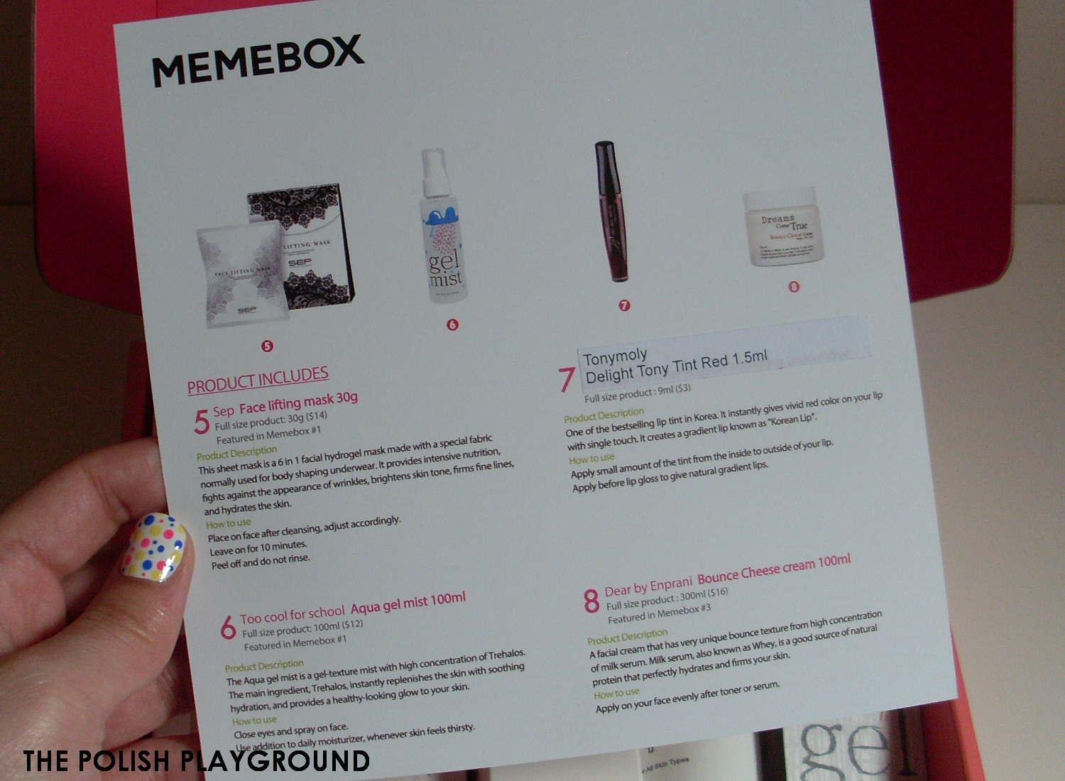 Memebox Luckybox #1 Unboxing and First Impressions