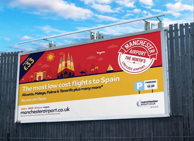 Manchester Airport - 48-Sheet Billboard