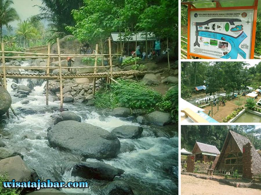 Wisata Alam Sungai Cireong Primadona Baru Di Ciamis