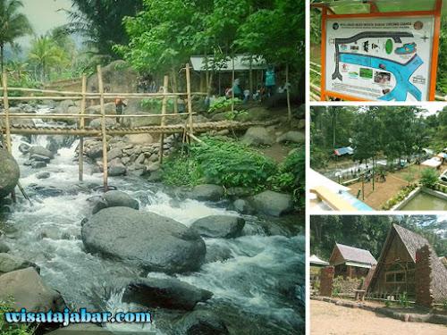 Wisata Sungai Cireong Ciamis