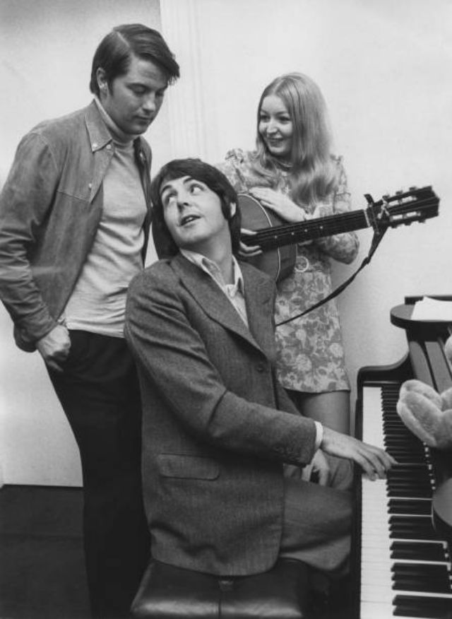 vintage photos and the story of mary hopkin met the