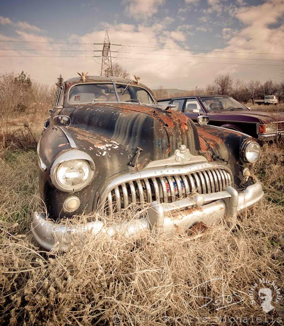Just A Car Guy: the '47 Buick Roadmaster Hearse is now for