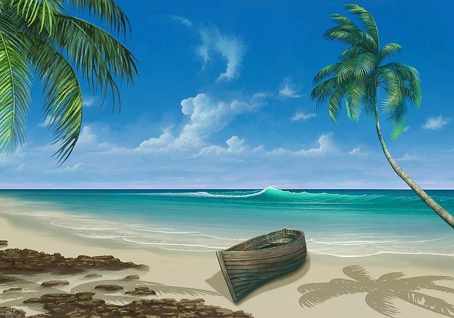 30 Kata Kata 'Caption' Tentang Ombak dan Pasir Pantai