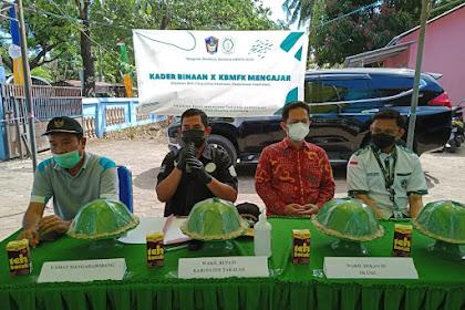 Wakil Bupati Takalar membuka acara Pelatihan BHD, penyuluhan kesehatan dan pemeriksaan kesehatan