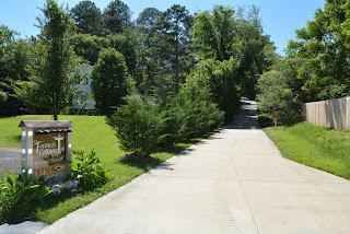 St Francis Cottage Driveway 2020