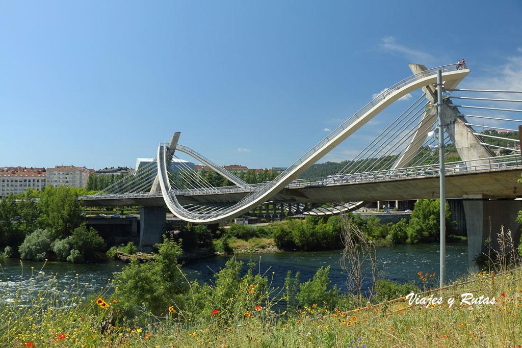 Puente del milenio de Ourense