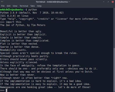 The Zen of Python-How to write beautiful Python code