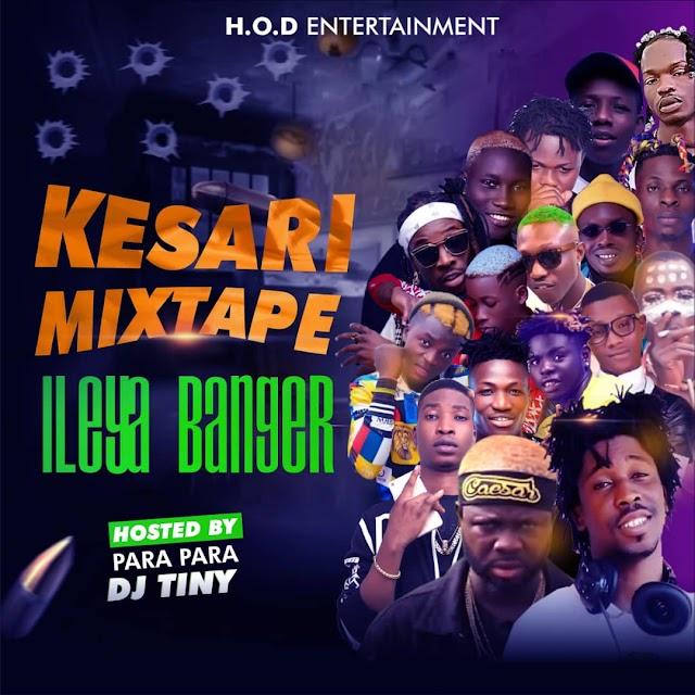 [Mixtape] Dj Tiny – Kesari Mixtape Ileya Banger
