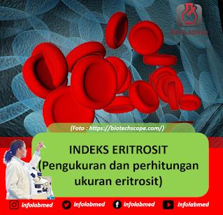 INDEKS ERITROSIT (Pengukuran dan perhitungan ukuran eritrosit)
