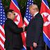 VIDEO: El histórico saludo entre #Trump y #KimJongUn