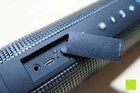Abdeckung: R4mpage RP-1100 Bluetooth Lautsprecher 10Watt mit LED Farbwechselmodus, und Mikrofon für Freisprechfunktion