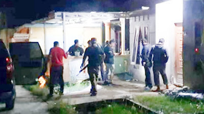 Kampung Narkoba Sei Berombang Di Grebek Polres Labuhanbatu