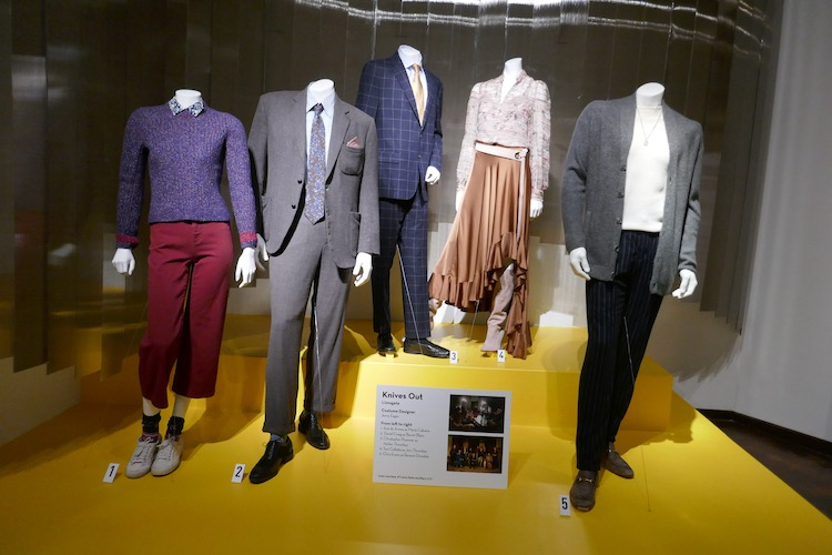 Knives Out movie costumes FIDM Museum