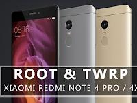 Cara ROOT & Pasang TWRP Xiaomi Redmi Note 4x / 4 Pro (mido) Snapdragon 625