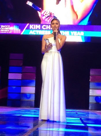 Kim Chiu is celebrity of the Year Yahoo Awards 2014
