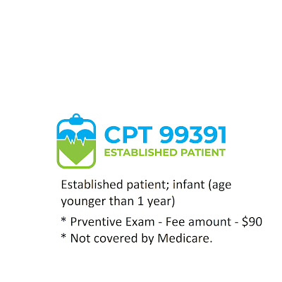 CPT 99391 - Preventiv Exam - Less than 1 year