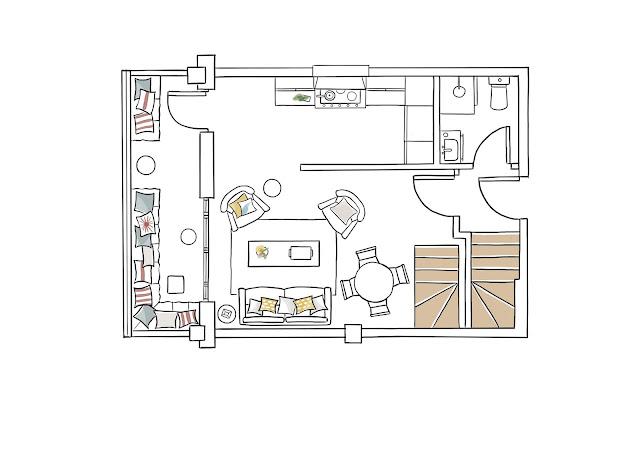 blog Achados de Decoração, apartamento tons neutros, apto 60 m²