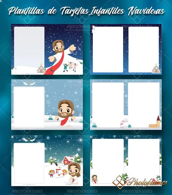 Plantillas de navidad cristianas para niños