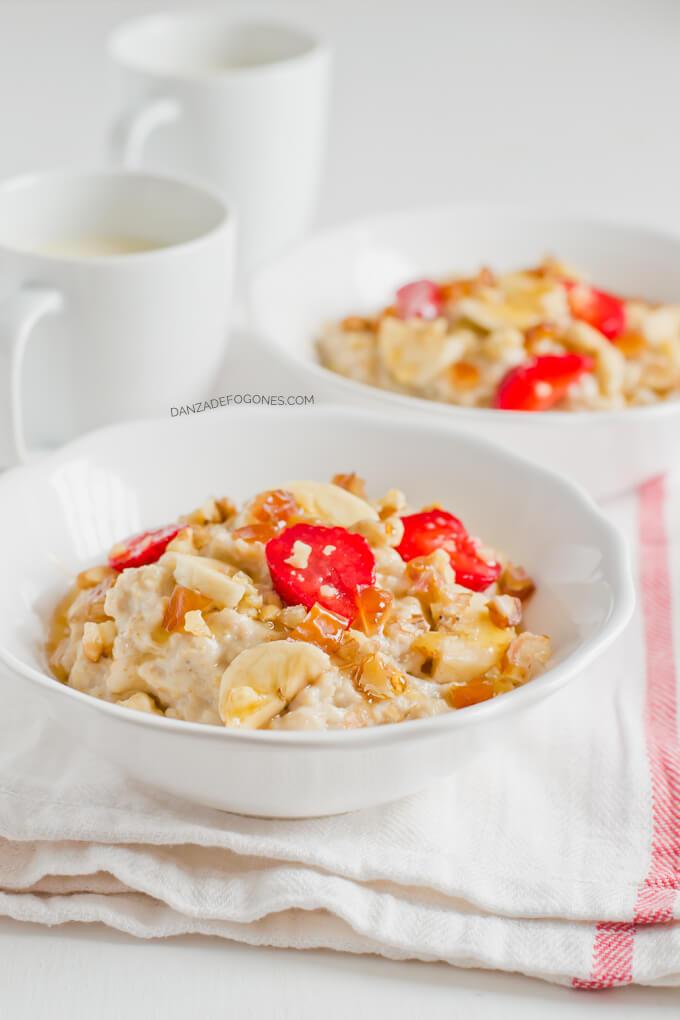 Oatmeal (porridge) | danceofstoves.com