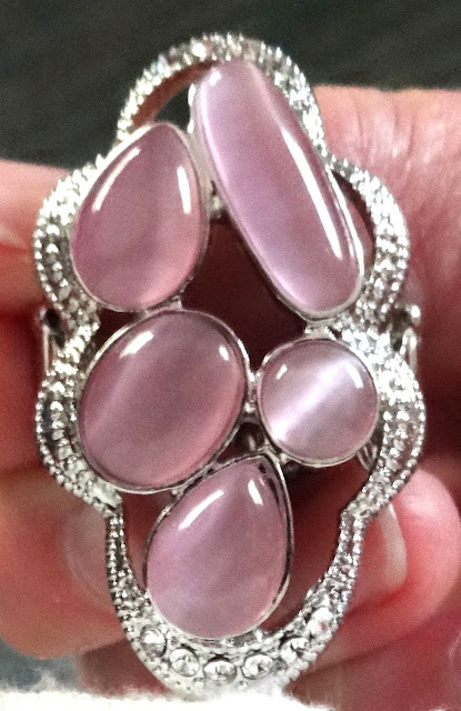 pink statement ring by Paparazzi