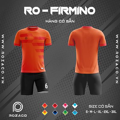 Áo Không Logo Rozaco RO-FIMINO Màu Cam