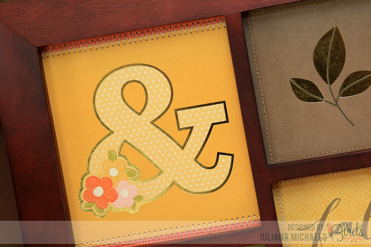 Fall Frame Home Decor by Juliana Michaels for 3 Birds Design