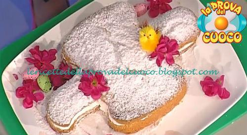 Colomba paradiso alla panna ricetta Moroni da Prova del Cuoco