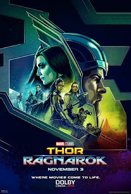 Marvel's Thor: Ragnarok DOLBY Cinema Theatrical One Sheet Movie Poster
