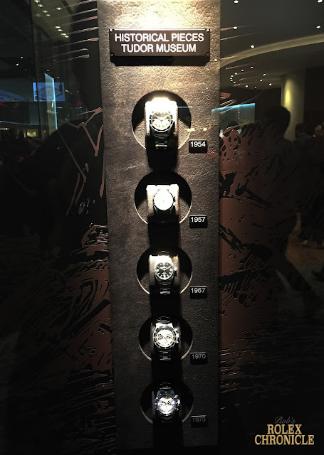 photo of Tudor Museum Display at Baselworld 2016