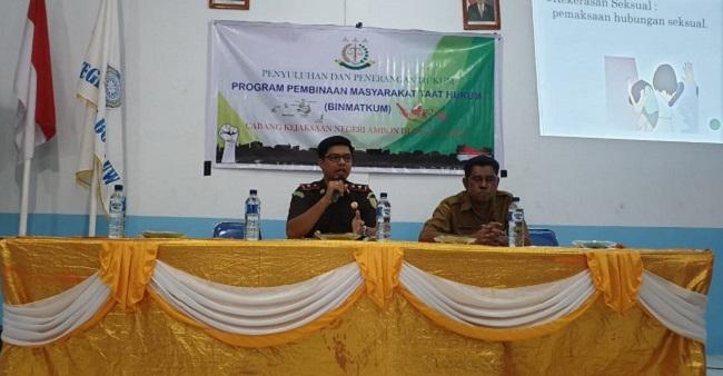 Kacabjari Banda Gelar Penyuluhan dan Penerangan Hukum Program BINMAKTUM 2019