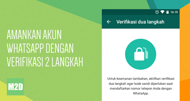 Mengaktifkan Verifikasi Dua Langkah WhatsApp