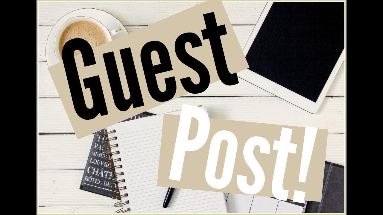 شرح الجيست بوست (Guest Post) مفهوم عام لأصحاب المواقع