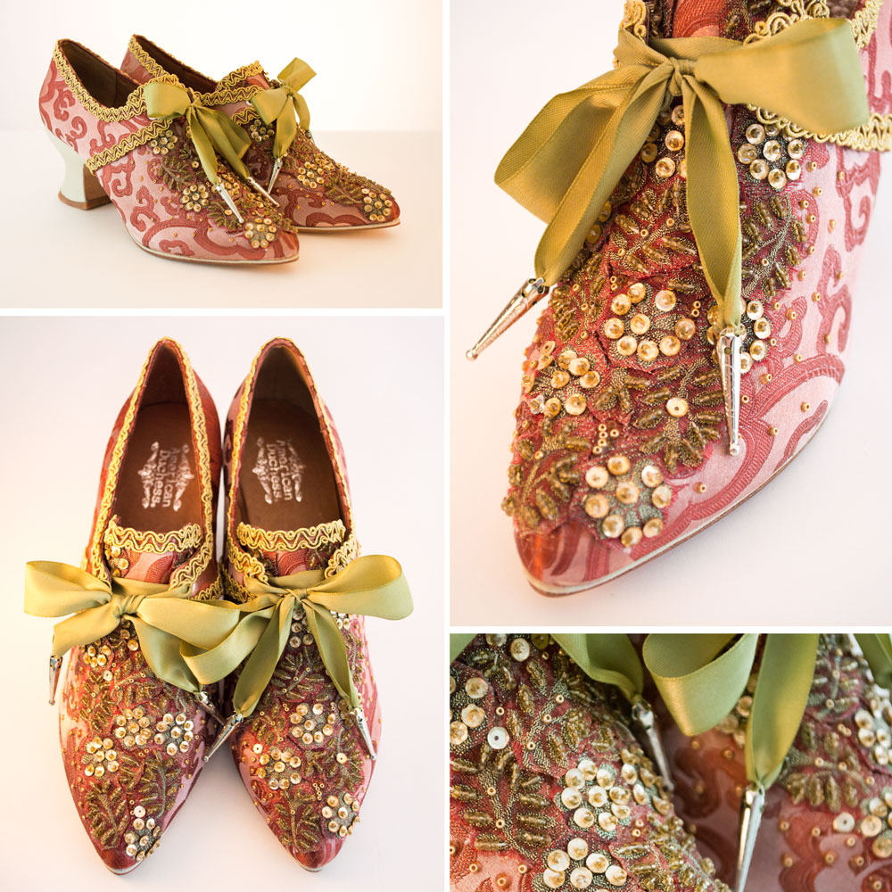 American Duchess Customized 18th Century Shoes - DIY