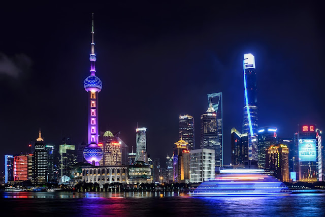 The futuristic City of Shanghai
