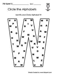 kids worksheets alphabet recognition worksheets for preschool and pre k kids. Black Bedroom Furniture Sets. Home Design Ideas