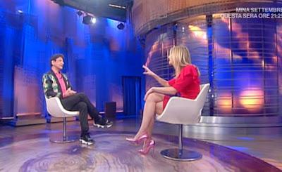 Francesca Fialdini con Paolo Fox da noi a ruota libera