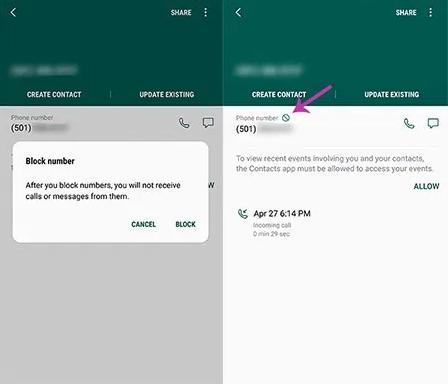 Cara Memblokir Panggilan di Samsung Galaxy S7 5